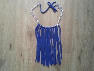 Cómo hacer un collar de trapillo fácil y barato | facilisimo.com