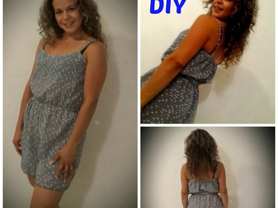 Como Hacer Un Enterizo de Tirantes -DIY-  How To M