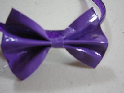 Cómo hacer un lazo con cinta adhesiva