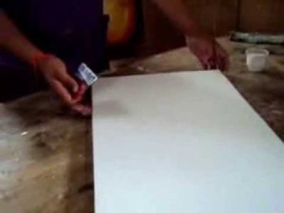Como Imprimar (Preparar) un lienzo_facilito