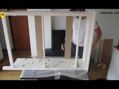 CÓMO MONTAR ZAPATERO IKEA SERIE HEMNES (subtitles)