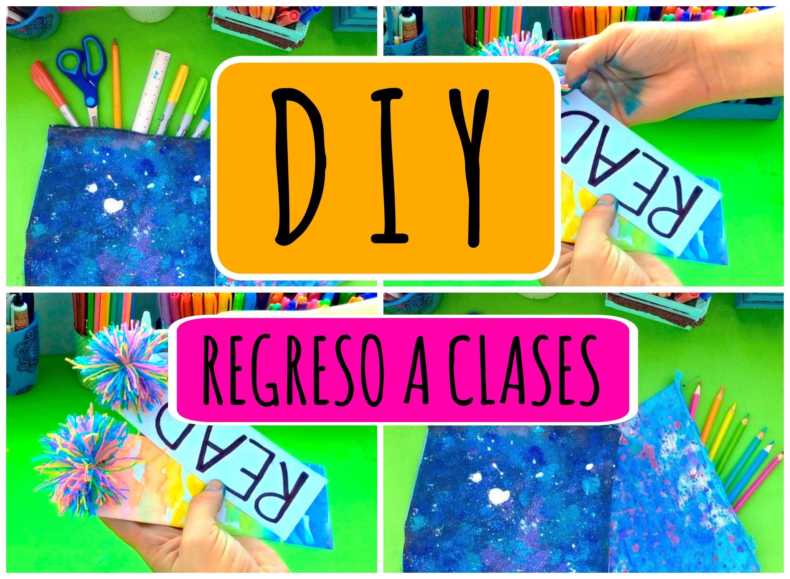 Crea estuches y separadores de libros | REGRESO A CLASES | DIY