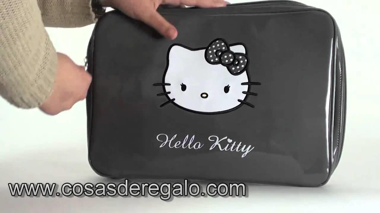 Demo Funda para el portatil Hello Kitty Gris