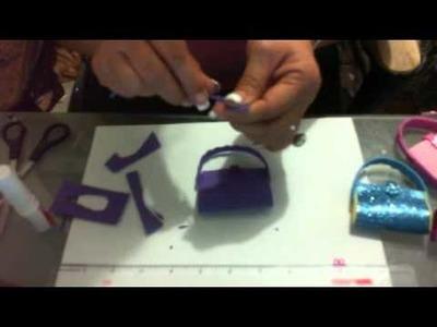 DIY como hacer bolsita llavero recuerdo quinceaños