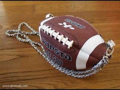 DIY: Haz un bolso con un balón fútbol americano
