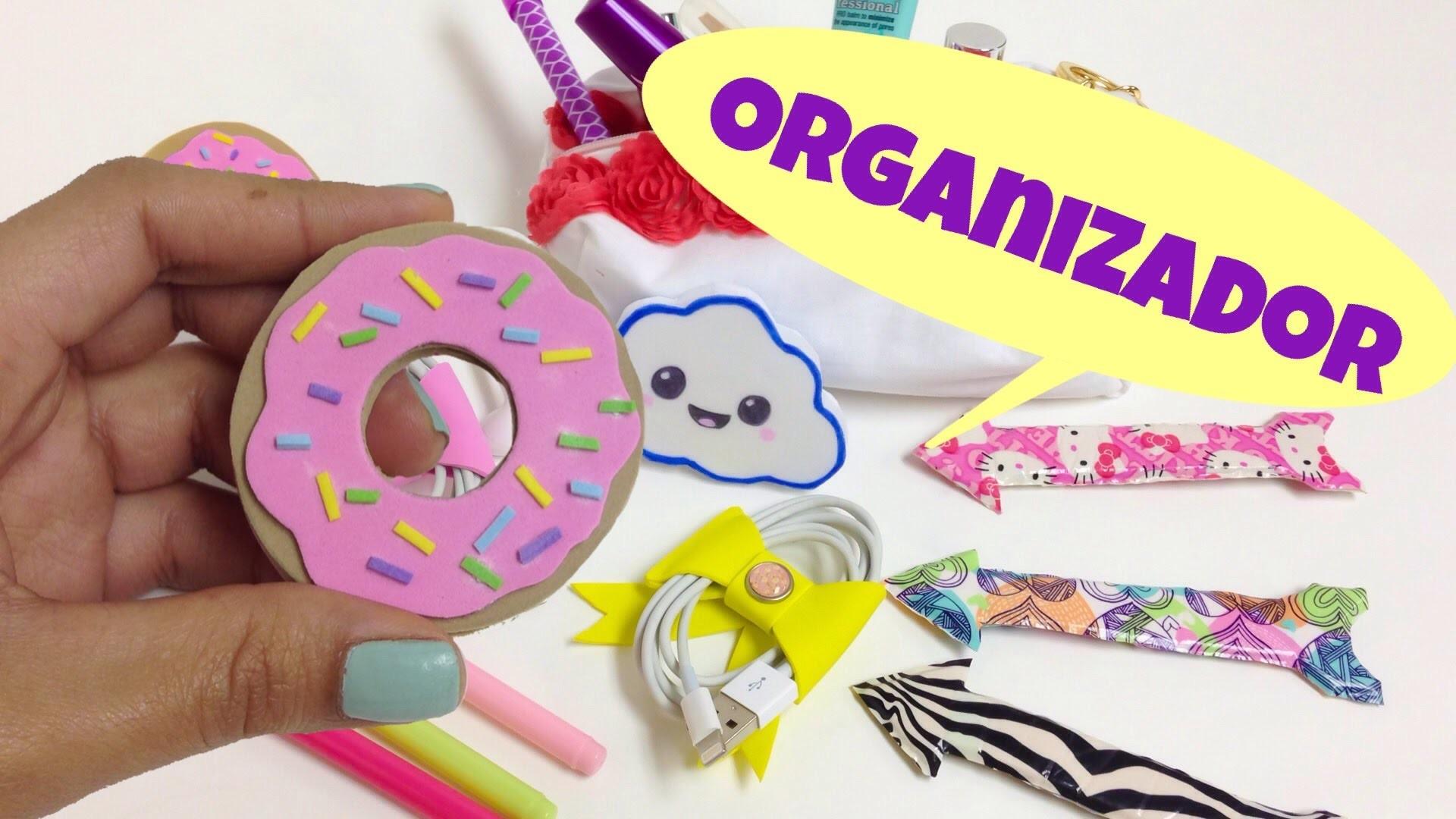 Ideas Para Organizarmanualidades Facilesorganizador Para Cables - Ideas-para-manualidades
