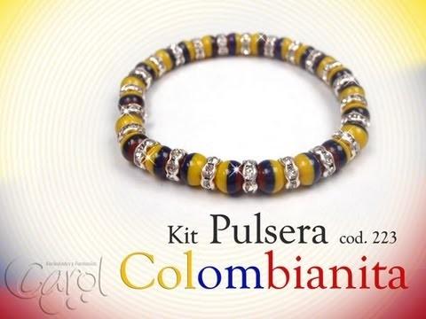 KIT 223 Kit pulsera colombianita x und