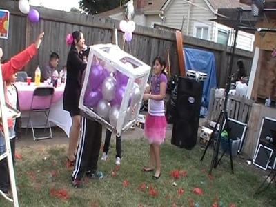 La piñata de globos