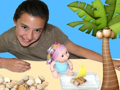 Manualidades para muñecos: bañador y barco