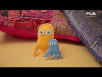 Muñecos de fieltro | Cómo hacer un muñeco de fieltro | @iMujerHogar