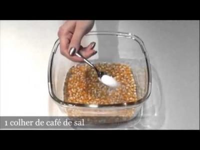Palomitas caseras para microondas