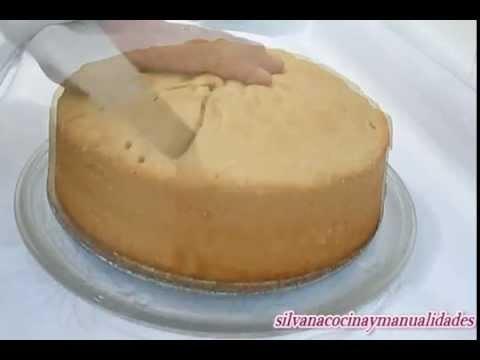 Receta: Bizcocho Basico Para Tortas - Silvana Cocina Y Manualidades