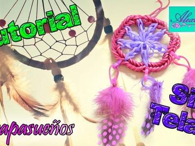 ♥ Tutorial: Atrapasueños de gomitas (sin telar) ♥