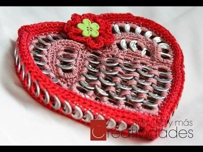 14 de Febrero - proyecto de Día de San Valentín Monedero Corazón parte 2