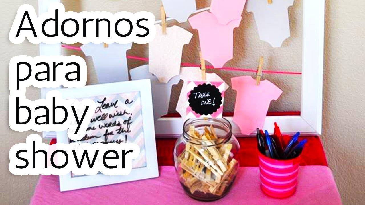 40 Adornos para decorar tu Baby shower HD