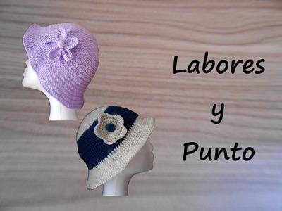 Aprende a tejer este gorro a ganchillo o crochet- Parte 1 de 2