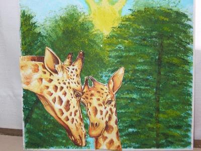 Cómo hacer este bello cuadro con pintura en madera y decoupage, para el día de la madre.