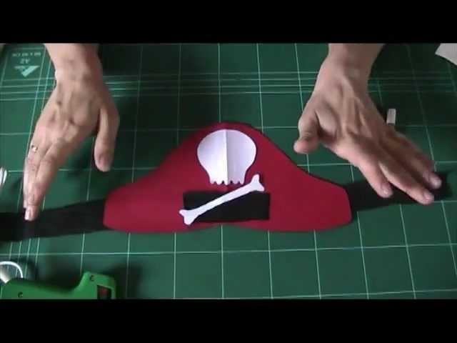 Cómo hacer un gorro pirata