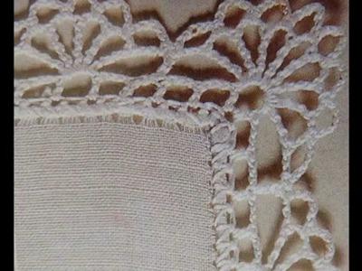 Como tejer orilla a crochet 4