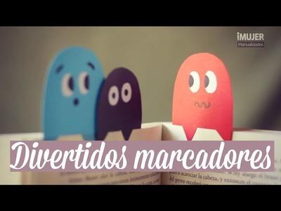 Divertidos Marcadores para libros | cómo hacer marcadores | iMujer Hogar