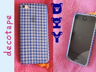 DIY ♥ Carcasa de móvil con deco tape - Regalo súper fácil ✮ Hachilovekawaii