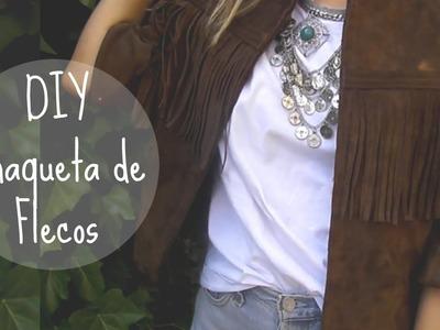 DIY chaqueta de FLECOS sin coser | Monica Beneyto