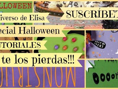 Especial Halloween, Anuncio de Tutoriales para Halloween del Canal El Universo de Elisa