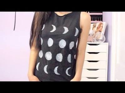 HTM: Remera y short con diseño de lunas