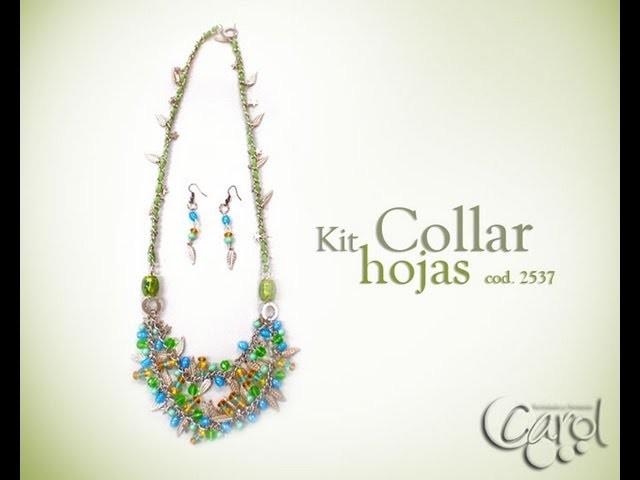 KIT 2537 Kit collar IG hojas x und