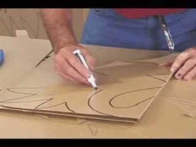 Manualidades Originales,hacer un Cisne de Carton