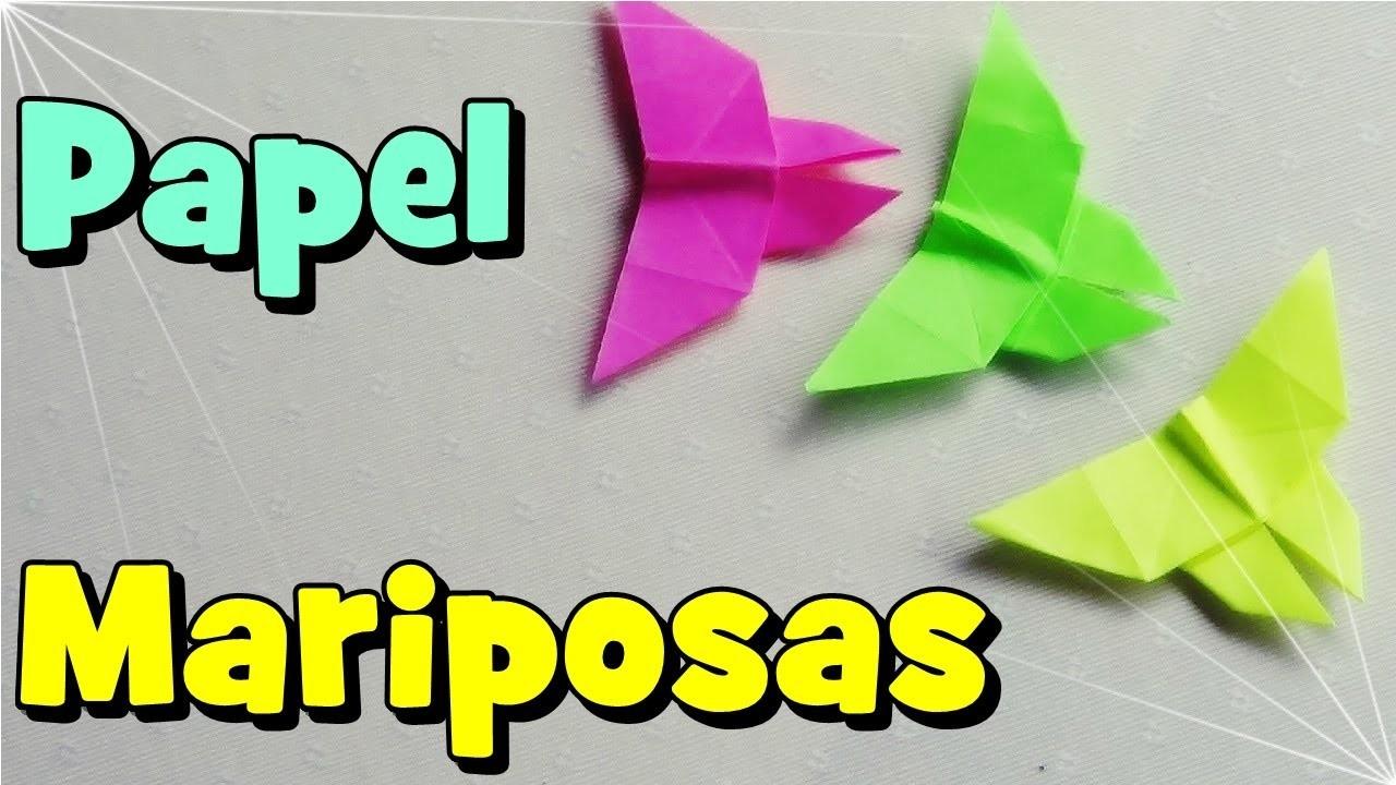 Mariposa de Papel - Origami