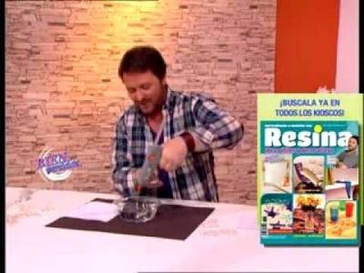 Martín Muñoz - Bienvenidas TV - Nos enseña a hacer adornos con luces de navidad