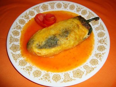 RECETA DE LOS CHILES RELLENOS PARTE 1.2 - La receta del abuelita