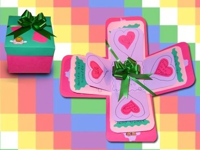 San Valentín DIY Preciosa  Carta. Caja