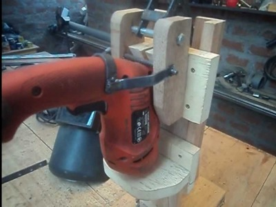 TALADRO VERTICAL CASERO - Homemade Drill Press