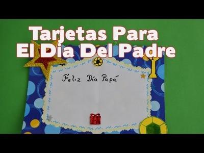 Tarjetas Para El Dia Del Padre Manualidades -  Una tarjeta para el dia del padre Bonita