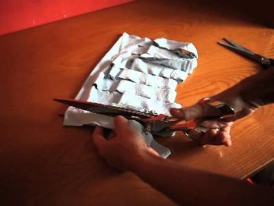Tiras de algodón reciclado para tejer jarapas
