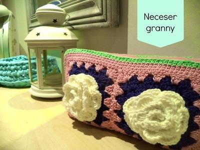 Tutorial neceser granny square