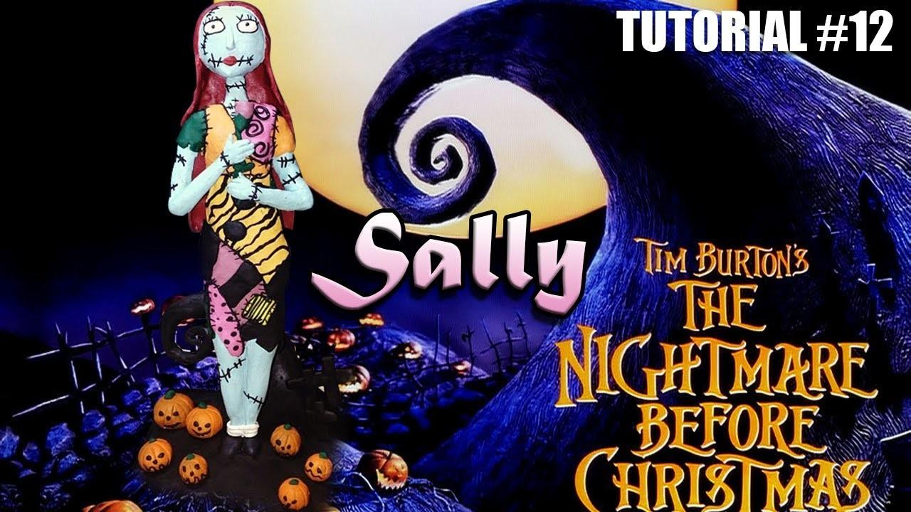 Tutorial Sally (The Nightmare Before Christmas) de Plastilina