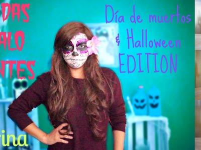 #53 BEBIDAS ESCALOFRIANTES | D.I.Y. →Día de muertos. Halloween EDITION ♥