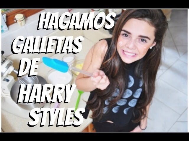 COCINANDO GALLETAS DE HARRY STYLES ♡