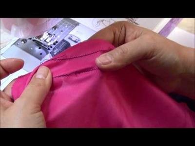 Cómo ajustar la puntada para que sea elástica