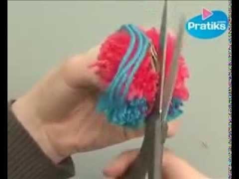 Cómo hacer un pon pon o borla de lana para Navidad