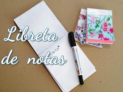 Como hacer una Lbreta de notas (DIY) | Notebook DIY