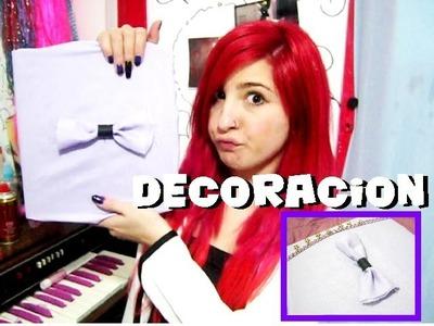 Decoración CAMBIABLE para carpetas, agendas, etc! ♥