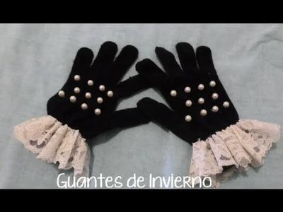 DIY ❅ Decora tus guantes de Invierno