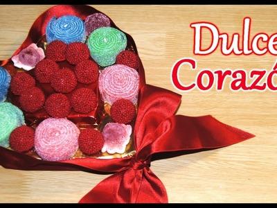 DIY. HTM: Corazón de gominolas. Sweet Heart