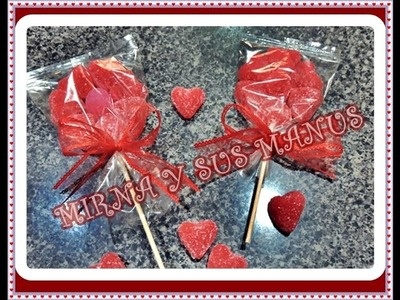 Flor de gomitas. Dulce regalo.Flower gummies. Sweet gift.