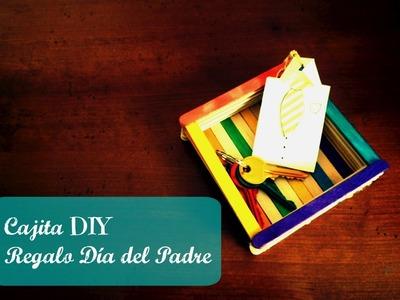 Manualidades Infantiles: Cajita DIY para regalar el Día del Padre