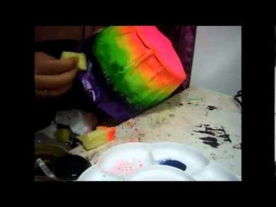 Manualidades: Lámpara de Colores - Juancarlos960